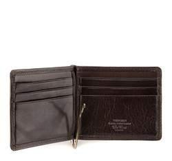 Banknotówka skórzana z herbem, brązowy, 39-1-391-3, Zdjęcie 1