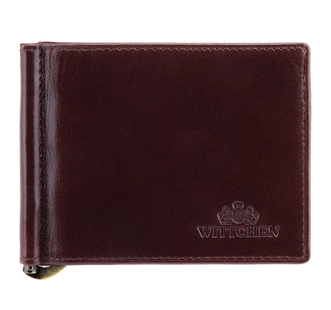 Зажим для денег Wittchen 21-1-391-4, коричневый 21-1-391-4