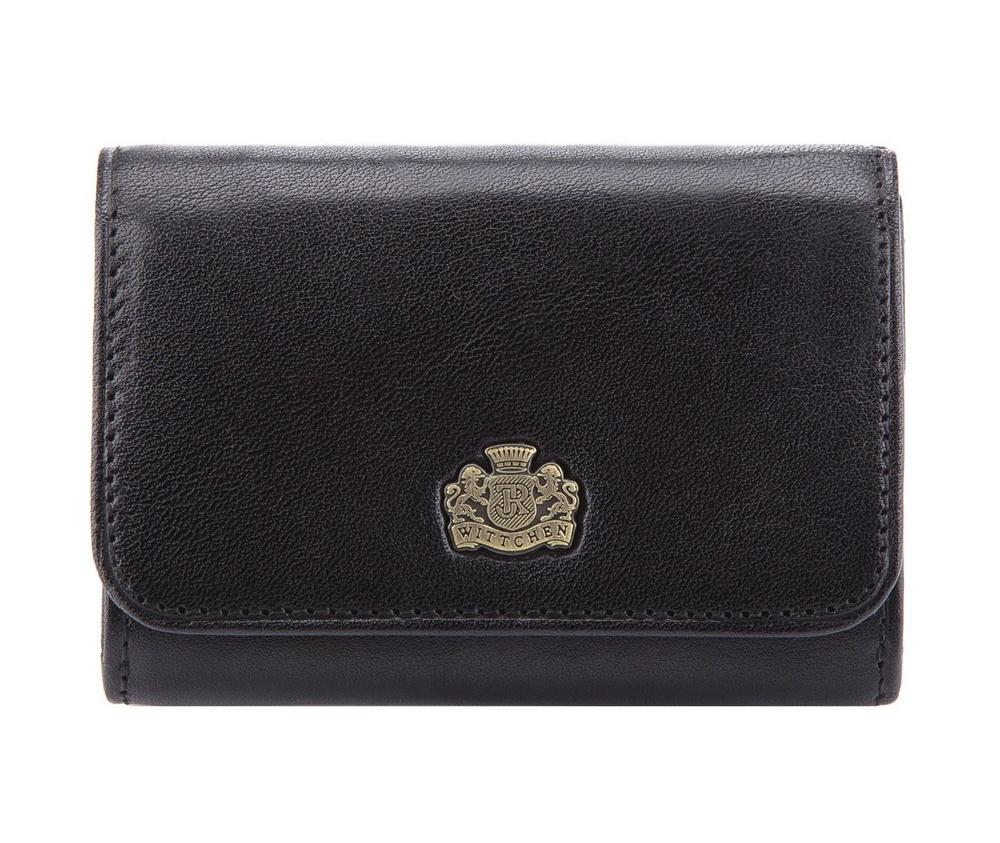 d8b1c40e7a17e Mały damski portfel ze skóry naturalnej