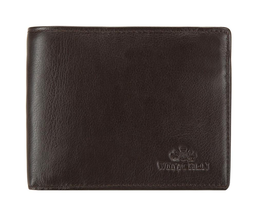 Кожаный кошелек Wittchen 02-1-040-4, темно-коричневый