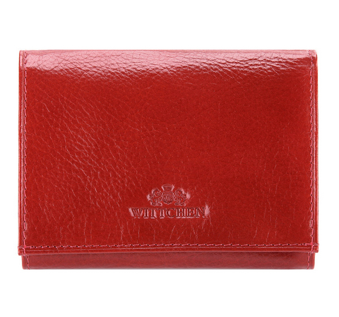 Portfel, czerwony, 21-1-071-3, Zdjęcie 1
