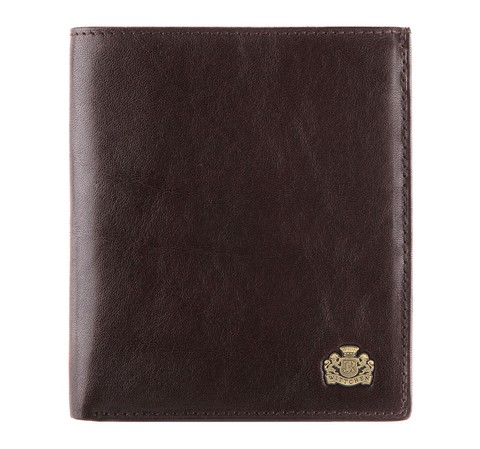 Męski portfel skórzany duży, Brązowy, 10-1-139-4, Zdjęcie 1