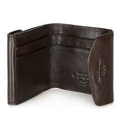 Męski portfel skórzany rozkładany, brązowy, 21-1-088-4, Zdjęcie 1