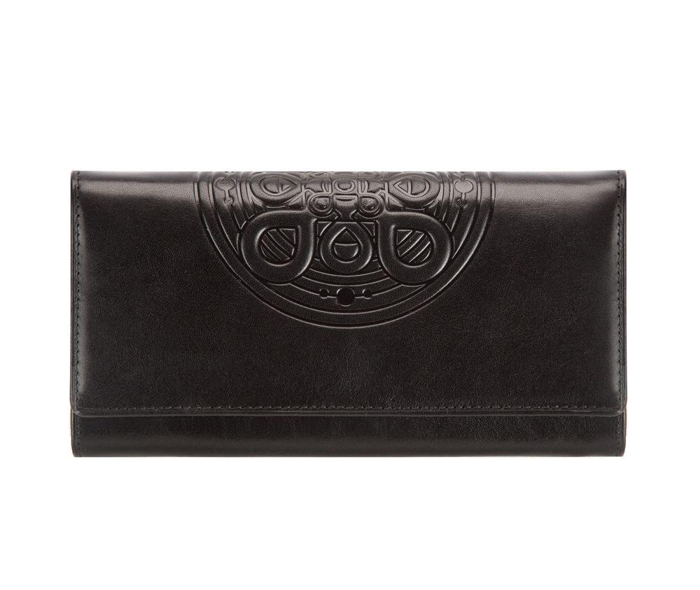 Кожаный кошелек Wittchen 04-1-052-1, черный