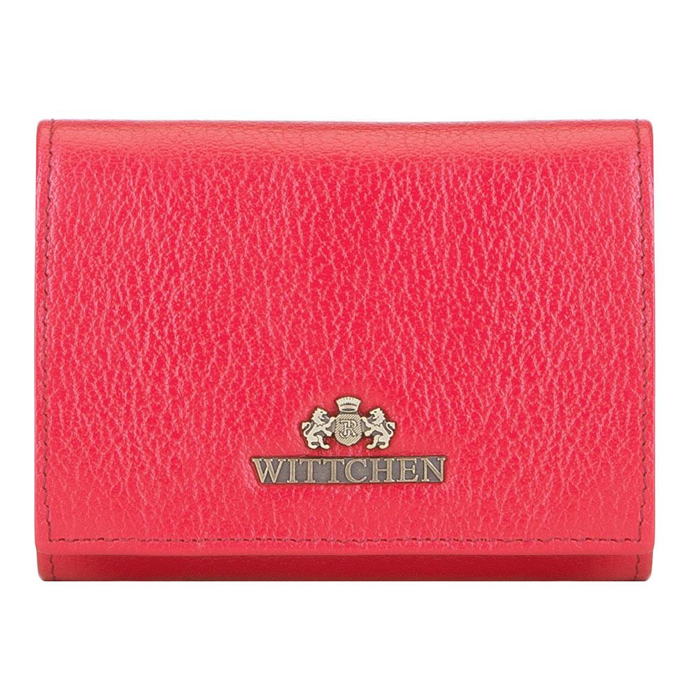 Dámska červená peňaženka.