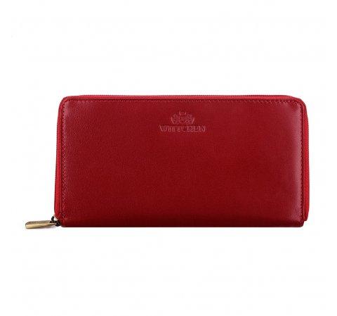 portfel, czerwony, 14-1-057-L91, Zdjęcie 1