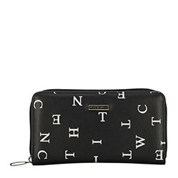 Wallet, black-white, 90-1Y-550-1, Photo 1