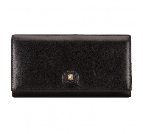 Portfel, czarny, 10-1-075-1M, Zdjęcie 1
