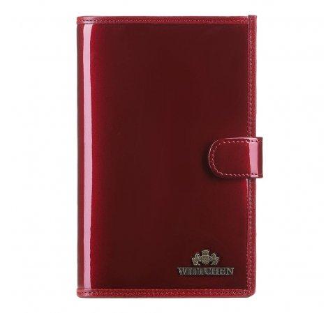 portfel, czerwony, 25-1-263-3, Zdjęcie 1