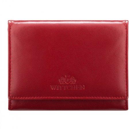 Portfel, czerwony, 14-1-070-L91, Zdjęcie 1