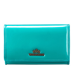 Purse, teal blue, 25-1-081-M, Photo 1