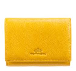 Кожаный кошелек Wittchen 21-1-070-Y, желтый 21-1-070-Y