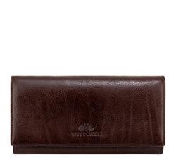 Кожаный кошелек Wittchen 21-1-075-44, темно-коричневый 21-1-075-44