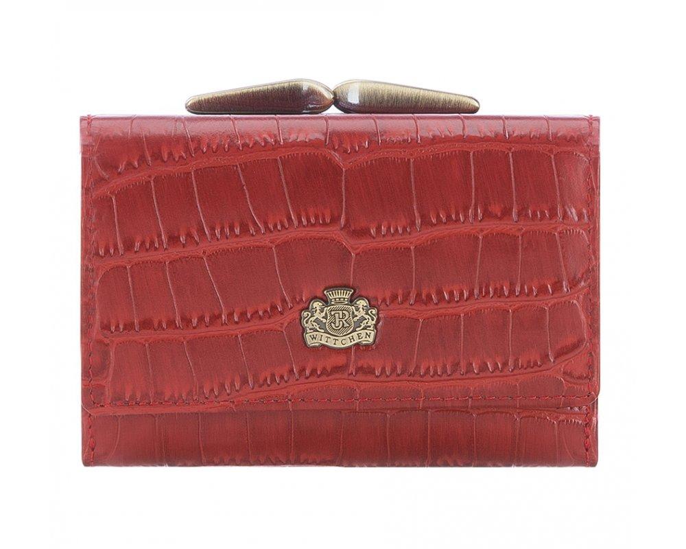 Кожаный кошелек Wittchen 15-1-053-3, красный