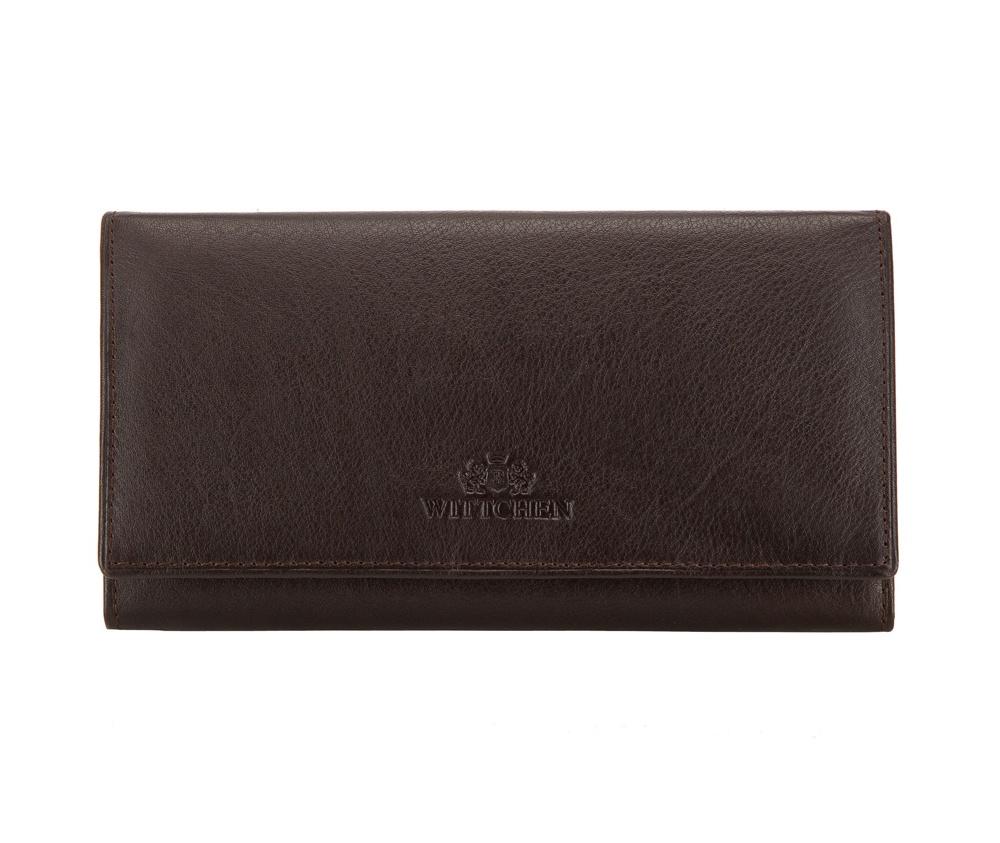 Кожаный кошелек Wittchen 02-1-075-4, темно-коричневый