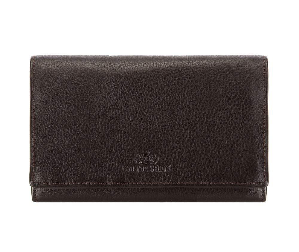 Кожаный кошелек Wittchen 02-1-081-4, темно-коричневый