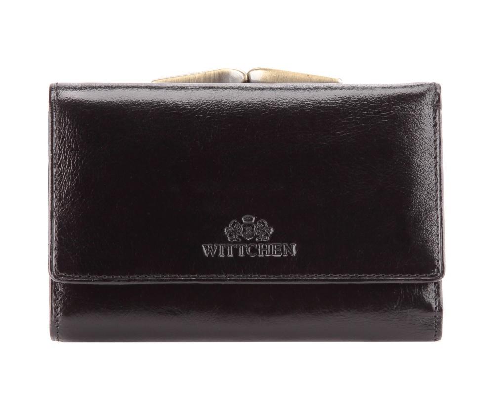 773747c45ea3c Skórzana mała damska portmonetka | WITTCHEN | 21-1-337