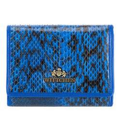 Portmonetka, niebiesko - czarny, 19-1-070-NN, Zdjęcie 1