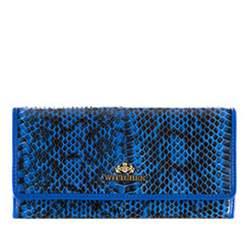 Portmonetka, niebiesko - czarny, 19-1-075-NN, Zdjęcie 1