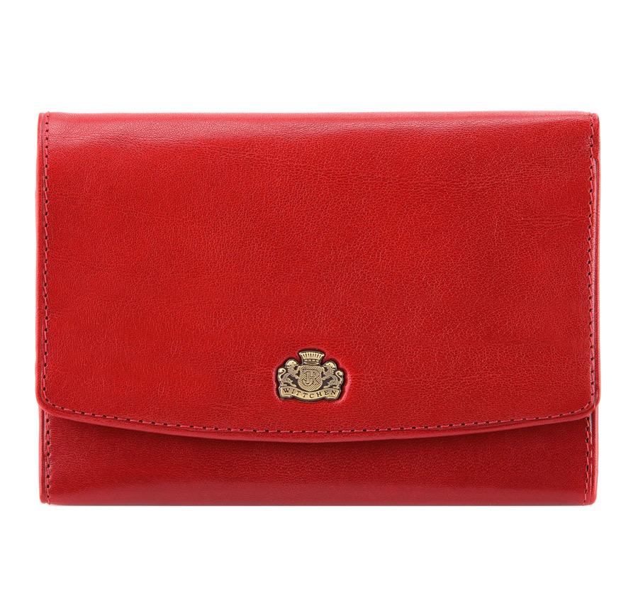 Portmonetka, czerwony, 10-1-062-3, Zdjęcie 1