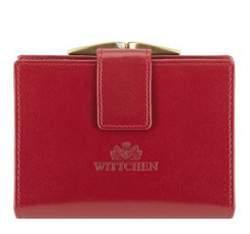 Портмоне кожаное Wittchen 14-1-055-91, красный 14-1-055-91