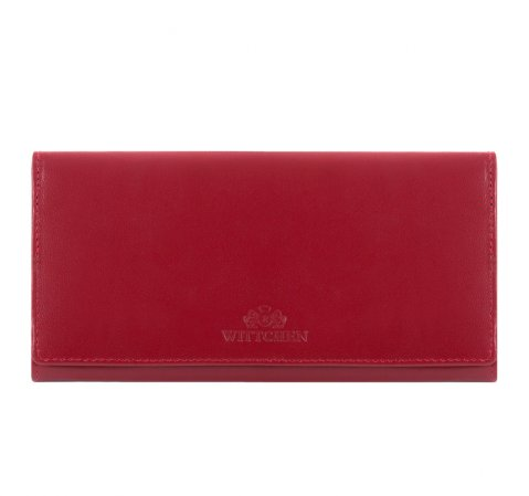 Portmonetka, czerwony, 14-1-075-91, Zdjęcie 1