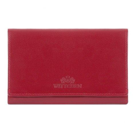 Portmonetka, czerwony, 14-1-081-91, Zdjęcie 1