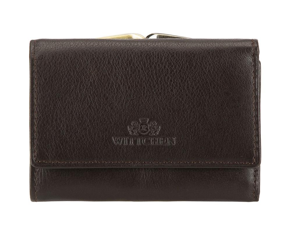 Кожаный кошелек Wittchen 02-1-053-4, темно-коричневый