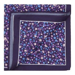 Men's pocket square, violet, 87-7P-001-X6, Photo 1