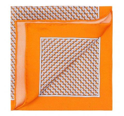 Poszetka, pomarańczowy, 87-7P-002-X1, Zdjęcie 1