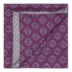 Men's pocket square, violet, 87-7P-002-X4, Photo 1