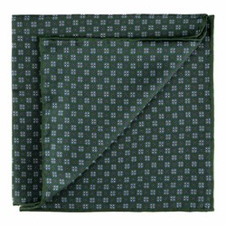 Pocket square, green, 89-7P-001-X2, Photo 1