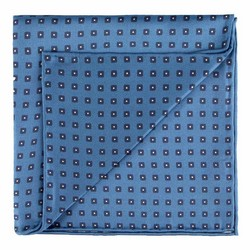 Pocket square, blue, 89-7P-001-X4, Photo 1