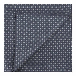 Pocket square, navy blue-white, 89-7P-001-X6, Photo 1