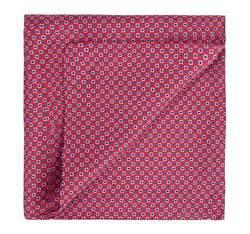 Men's pocket square, red, 82-7P-002-3, Photo 1