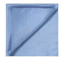 Poszetka, błękitny, 83-7P-100-X2, Zdjęcie 1