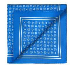 Men's pocket square, blue, 83-7P-101-X10, Photo 1