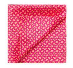 Men's pocket square, red, 83-7P-101-X4, Photo 1
