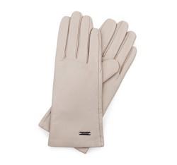 Rękawiczki damskie, ecru, 39-6-500-6A-S, Zdjęcie 1
