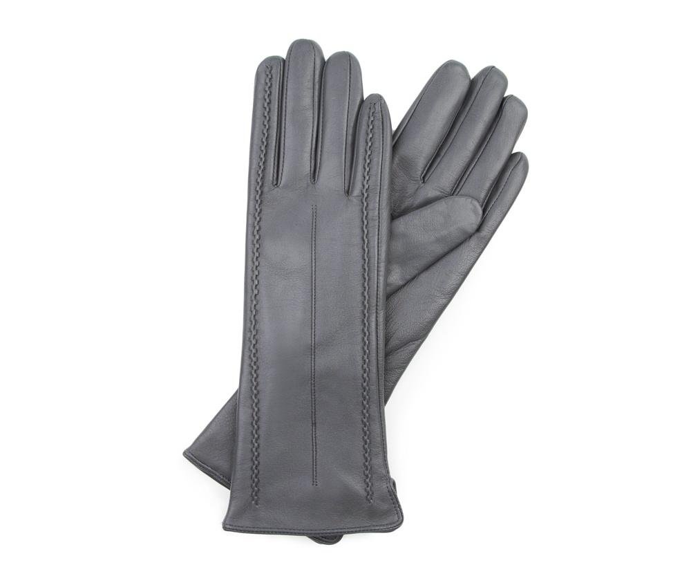 Перчатки женские Wittchen 39-6-511-S, серыйПерчатки женские Wittchen 39-6-511-S, серый<br><br>секс: женщина<br>Цвет: серый<br>Размер INT: S<br>материал:: Натуральная кожа
