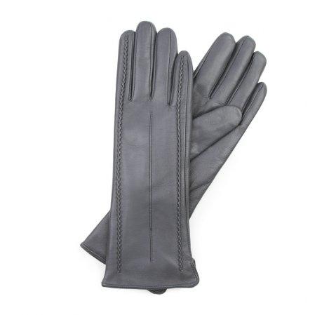 Rękawiczki damskie, szary, 39-6-511-S-V, Zdjęcie 1