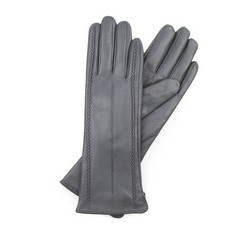 Rękawiczki damskie, szary, 39-6-511-S-X, Zdjęcie 1