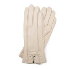 Rękawiczki damskie, jasny beż, 39-6-536-A-L, Zdjęcie 1