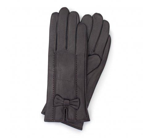 Rękawiczki damskie, ciemny brąz, 39-6-536-Z-S, Zdjęcie 1
