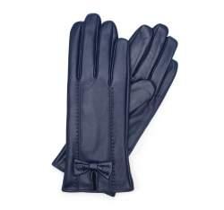 Rękawiczki damskie, granatowy, 39-6-536-GN-L, Zdjęcie 1