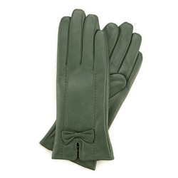 Rękawiczki damskie, zielony, 39-6-536-Z-V, Zdjęcie 1