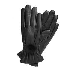 Rękawiczki damskie, czarny, 39-6-546-1-S, Zdjęcie 1