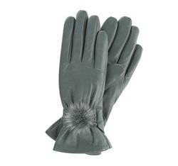 Rękawiczki damskie, szary, 39-6-546-S-M, Zdjęcie 1