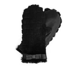 Rękawiczki damskie, czarny, 39-6-547-1-M, Zdjęcie 1