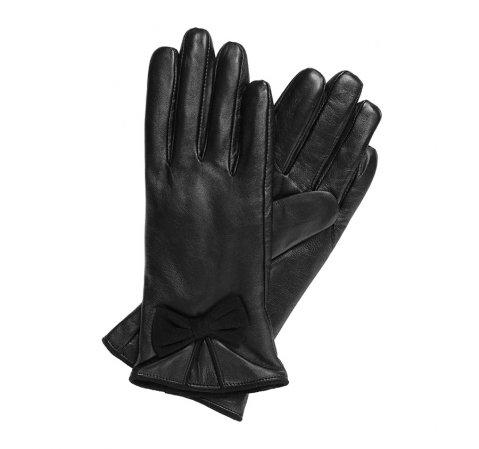 Rękawiczki damskie, czarny, 39-6-549-1-V, Zdjęcie 1